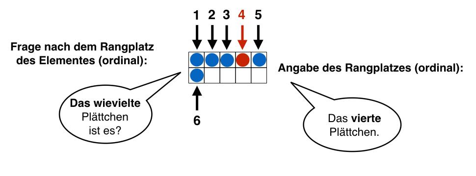 Kardinale und ordinale Bedeutung von Zahlen | Mathe inklusiv mit PIKAS